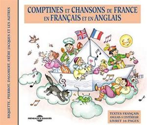 """Afficher """"Comptines et chansons de France en français et en anglais"""""""
