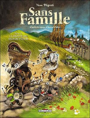 """Afficher """"Sans famille n° 2 La troupe du signor Vitalis"""""""