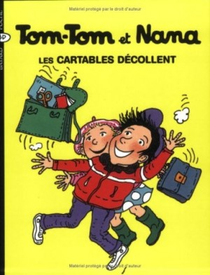 """Afficher """"Tom-Tom et Nana n° 4 Les cartables décollent"""""""