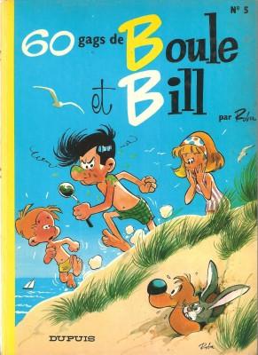 """Afficher """"Boule et Bill n° 5Soixante gags de Boule et Bill"""""""
