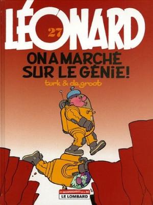 """Afficher """"Léonard n° 27 On a marché sur le génie !"""""""