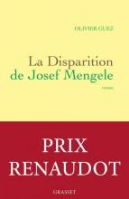 vignette de 'La disparition de Josef Mengele (Olivier Guez)'