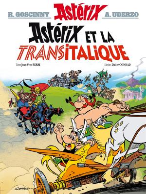"""Afficher """"Aventure d'Astérix le gaulois (Une) n° t.37<br /> Astérix et la Transitalique"""""""