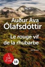 vignette de 'Le Rouge vif de la rhubarbe (Auóur Ava Ólafsdóttir)'