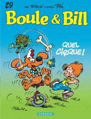 """Afficher """"Boule et Bill n° 29 Quel cirque !"""""""