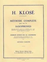 """Afficher """"Méthode complète pour tous les saxophones - Première partie"""""""