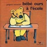 """Afficher """"Bébé ours à l'école"""""""