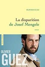 vignette de 'Disparition de Josef Mengele (La) (Olivier Guez)'