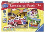 """Afficher """"PUZZLES : MICKEY 3X49 PIECES"""""""