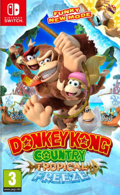 """Afficher """"Donkey Kong Country Tropical Freeze"""""""