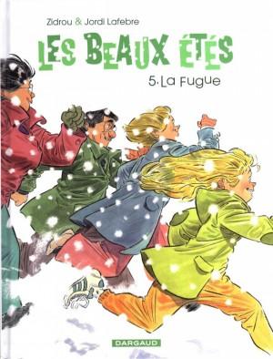 vignette de 'Les beaux étés n° 5<br /> La fugue (Zidrou)'