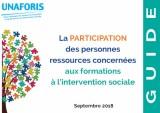 """Afficher """"Guide : la participation des personnes ressources concernées aux formations à l'intervention sociale"""""""