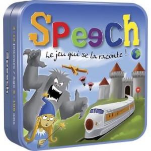 Couverture de Speech : Le jeu qui se la raconte !