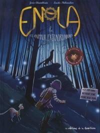 """Afficher """"Enola et les animaux extraordinaires n° 5 Le loup-garou qui faisait d'une pierre deux coups"""""""