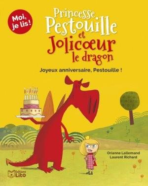 """Afficher """"Princesse Pestouille et Jolicoeur le dragon Joyeux anniversaire, Pestouille !"""""""
