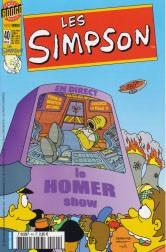 """Afficher """"Les Simpson n° Tome 38 Le Homer show"""""""