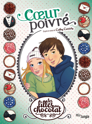 """Afficher """"Les filles au chocolat n° 9 Coeur poivré"""""""
