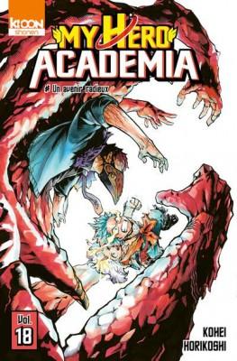 """Afficher """"My hero academia n° 18 Un avenir radieux"""""""