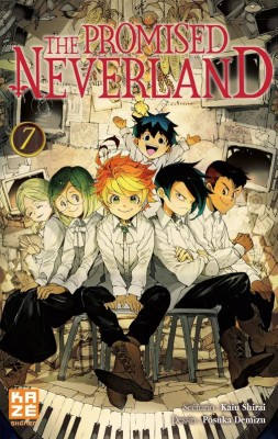 "Afficher ""The promised Neverland n° 7 Décision"""
