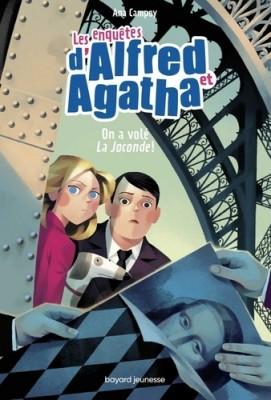 """Afficher """"Les enquêtes d'Alfred et Agatha n° 08 On a volé la Joconde"""""""