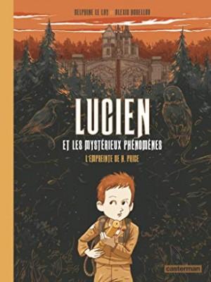 """Afficher """"Lucien et les mystérieux phénomènes n° 1L'empreinte de H. Price"""""""