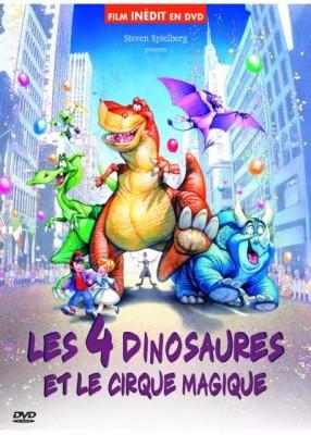 """Afficher """"Les 4 dinosaures et le cirque magique"""""""