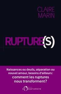 """Afficher """"Rupture(s)"""""""