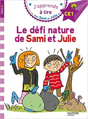 """Afficher """"J'apprends à lire avec Sami et Julie Le défi nature de Sami et Julie"""""""