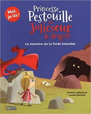 """Afficher """"Princesse Pestouille et Jolicoeur le dragon n° 3 Le monstre de la forêt interdite"""""""