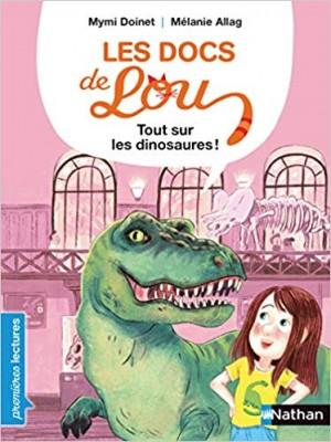 """Afficher """"Les docs de Lou Tout sur les dinosaures !"""""""