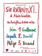 """Afficher """"Six portraits XL d'Alain Cavalier : Léon et Guillaume + Jacquotte et Daniel + Philippe et Bernard"""""""