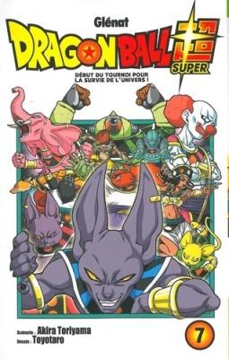 """Afficher """"Dragon Ball Super n° 7 Début du tournoi pour la survie de l'Univers !"""""""