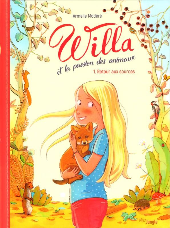 Willa et la passion des animaux.