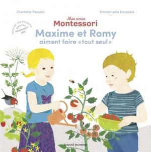 """Afficher """"Mes amis montessori n° 1 Maxime et Romy aiment faire """"tout seul"""""""""""