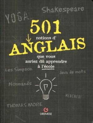 """Afficher """"501 notions d'anglais que vous auriez dû apprendre à l'école"""""""