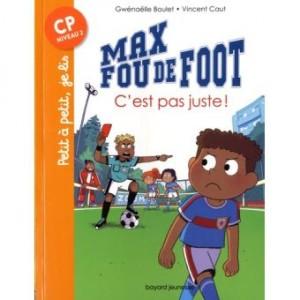 """Afficher """"Max fou de footC'est pas juste !"""""""