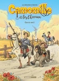 """Afficher """"Camomille et les chevaux n° 7 Que du vent !"""""""