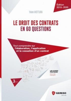 """Afficher """"Le droit des contrats en 60 questions"""""""