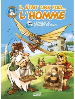 """Afficher """"Il était une fois l'homme n° 6 L'époque de Léonard de Vinci"""""""