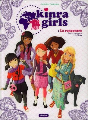 "Afficher ""Kinra girls (BD) n° 1 La rencontre : Kinra girls, 1"""