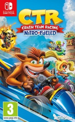 "Afficher ""CTR : CRASH TEAM RACING - Nitro - fueled"""