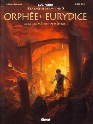 vignette de 'La sagesse des mythes<br /> Orphée et Eurydice (Clotilde Bruneau)'