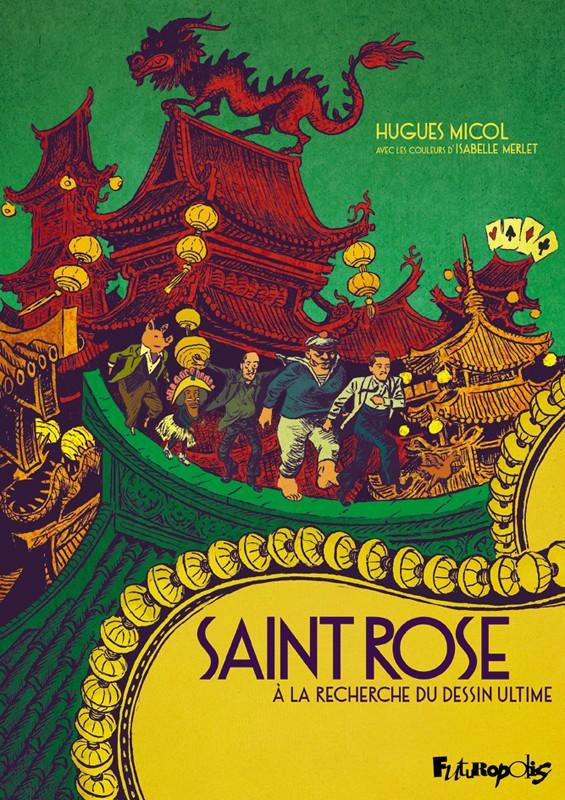 Saint Rose à la recherche du dessin ultime