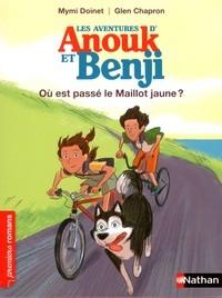 """Afficher """"Les aventures d'Anouk et Benji n° 1 Où est passé le maillot jaune ?"""""""