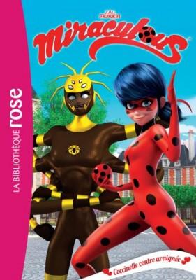 """Afficher """"Miraculous Ladybug n° 17 Coccinelle contre araignée"""""""