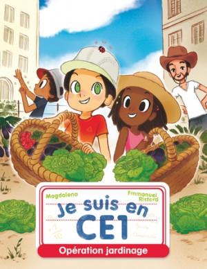 """Afficher """"Je suis en CE1 Opération jardinage"""""""