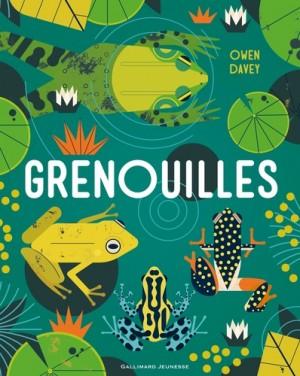 vignette de 'Grenouilles (Owen Davey)'