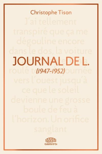 Journal de L.