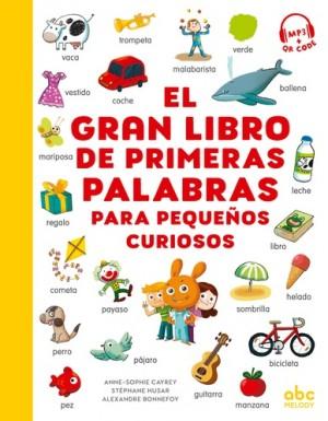 """Afficher """"El gran libro de primeras palabras para pequeños curiosos"""""""