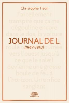 vignette de 'Journal de L. (Christophe Tison)'